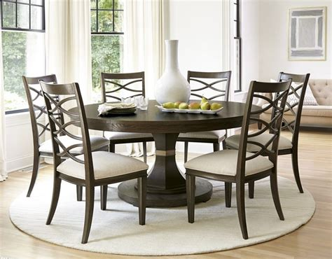 Circular Dining Table For 6 Chair Circular Dining Table And Chairs Circular Dining Room Dining Room Table For 6