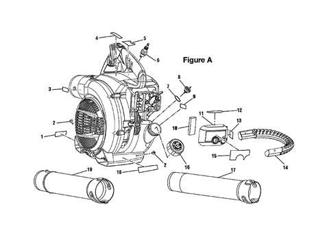 ryobi blower parts diagram ryobi ry09466 parts list ryobi ry09466 repair parts