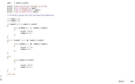 coding loop infinite loop of asterisks or nothing at all c and c