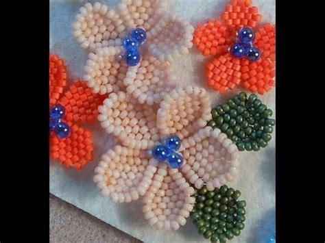 bead process b b flower project