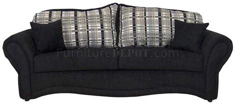 black fabric loveseat black fabric traditional sofa loveseat set w optional chair
