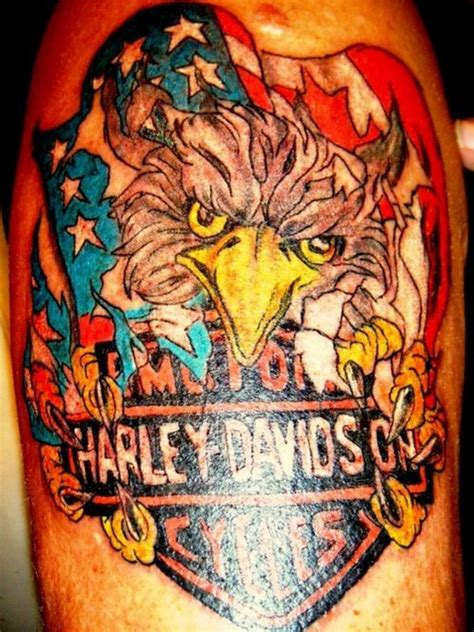 tattoo eagle harley davidson harley davidson eagle tattoo picture at checkoutmyink com