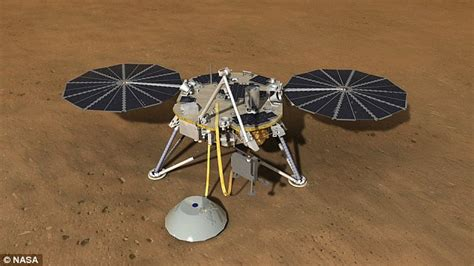 designa technical secrets of 1907155155 mars insight mission will drill deep beneath planet s crust for the first time daily mail online