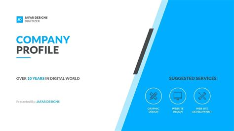 design company profile download template company profile sle template