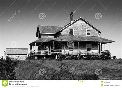 Colonial House Plans black and white of cedar shingle house stock images