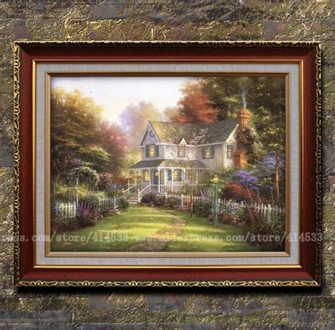 prints kinkade painting