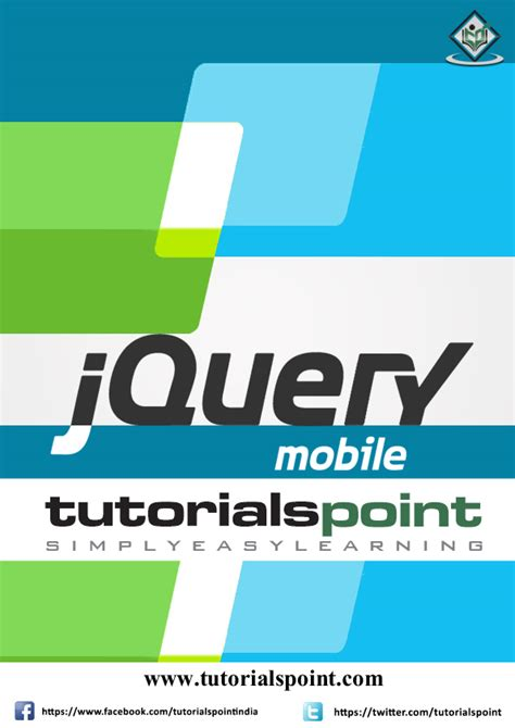 jquery mobile tutorial e books store tutorialspoint