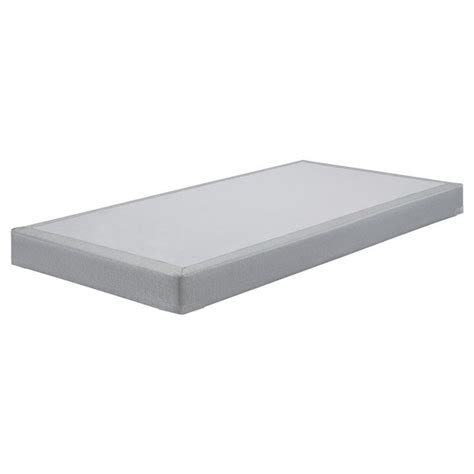 low profile bed foundation sierrasleep twin low profile mattress foundation in gray