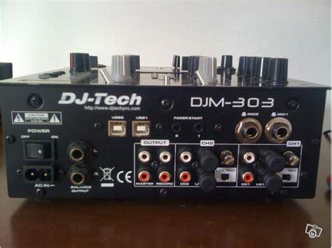console dj tech dj tech djm 303 image 459464 audiofanzine
