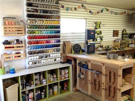 woodshop organization spray paint rack reality daydream