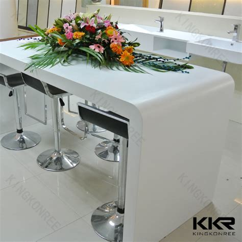 Acrylic Bar Table Acrylic Solid Surface Narrow Counter Height Bar Table Buy Bar Tables Cheap Narrow