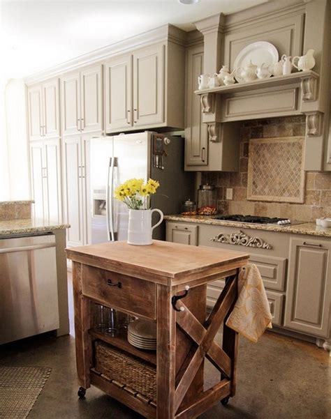 diy rustic kitchen cabinets rustic diy kitchen island diy rustic kitchen island our daily ideas