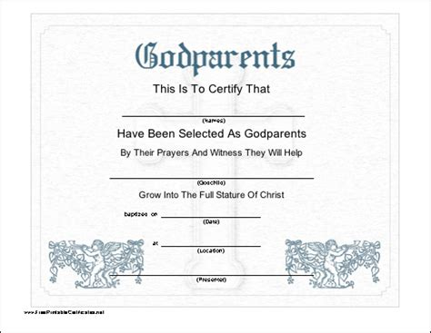 naming certificates free templates this printable certificate recognizes the selection of