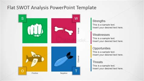 design analysis template flat design free swot presentation template slidemodel