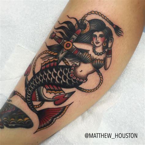 30 traditional mermaid tattoos ideas