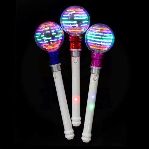 light up spinning wand halloween led spinner wand stick led light up spinning