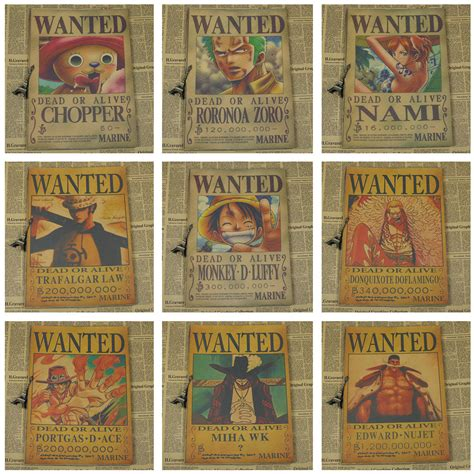 Poster Wanted One one wanted poster free worldwide shipping no 1