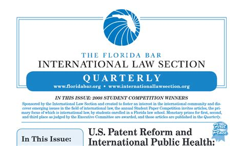 law sections pdf international law quarterly winter spring 2009