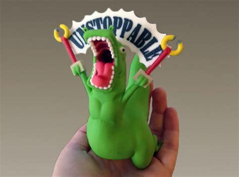 Unstoppable Dinosaur Meme - unstoppable t rex figurine