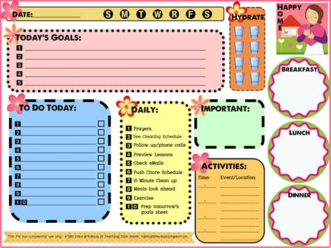 printable mom organizer free daily organizer templates calendar template 2016