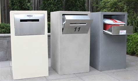 Letter Box Australia all new mosman stainless steel parcel letterbox