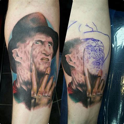krueger tattoo freddy krueger by tivis phillips tattoos