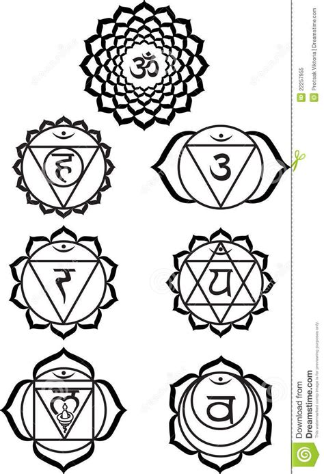 chakra tattoo designs chakra symbols black and white mandalas etc