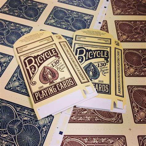 Bicycle 130th Anniversary Cards