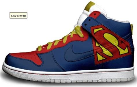 superman shoes shoes superman high top sneakers nike sneakers