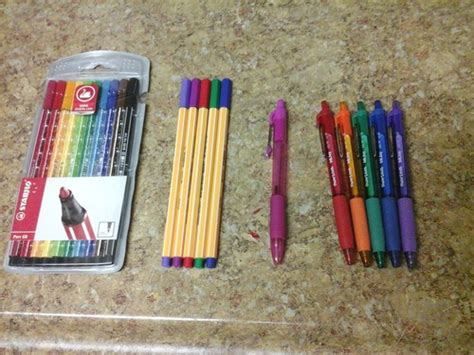 best colored pens for notes this also applies to the stabilo markers and pens in this