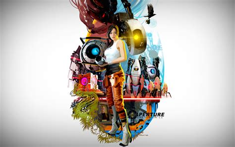 portal  game hd wallpapers  collections  hd