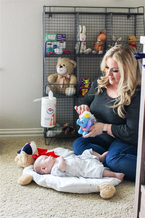 nursery cleaning checklist mom skills blog