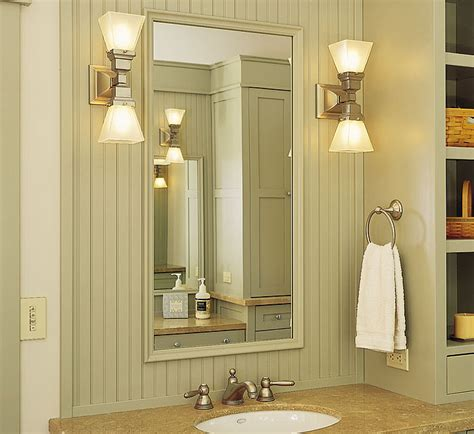 Bathroom Mirror Sconces Bathroom Sconces
