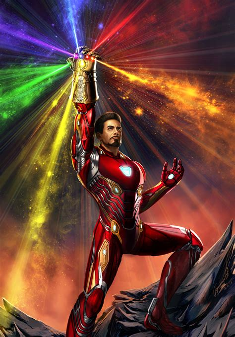 iron man infinity gauntlet wallpaper hd movies