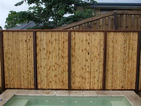 bamboo backyard privacy privacy fence ideas bamboo fence panels outdoor swimming