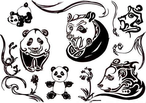 panda tattoo cartoon cute cartoon panda tattoo designs real photo pictures