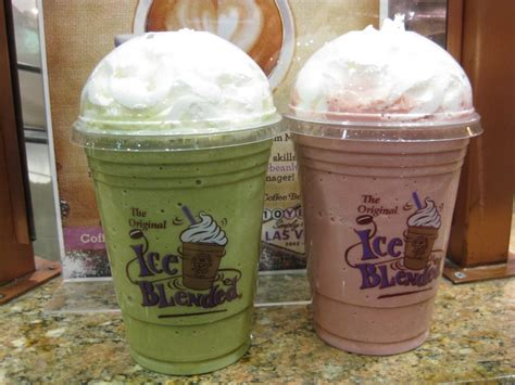 Coffee Bean Blended matcha blended malibu blended drinks 2012