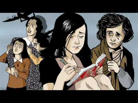 Youtube Anne Frank Graphic Biography | animation of anne frank the graphic biography youtube