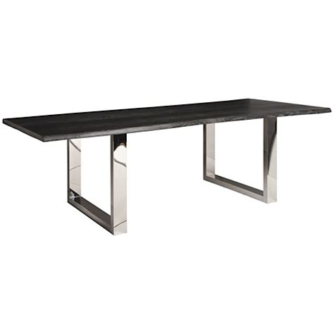 Lyon Dining Table Lyon Dining Table Grey Oxidized Oak 78 Quot Modern Digs Furniture