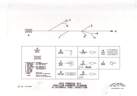 1972 porsche 911 wiring diagram 1972 free engine image