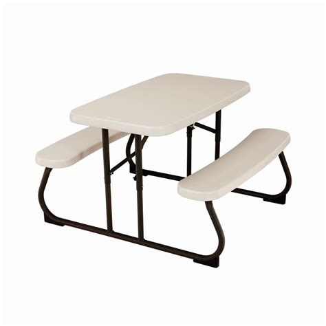 childrens folding picnic table lifetime 82 5cm children s blow mould picnic table