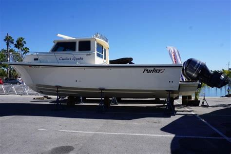 used saltwater boats for sale in florida 2016 used parker marine 3420 saltwater fishing boat for