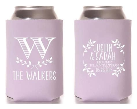 Handmade Koozies - new to siphiphooray on etsy wedding koozies monogrammed