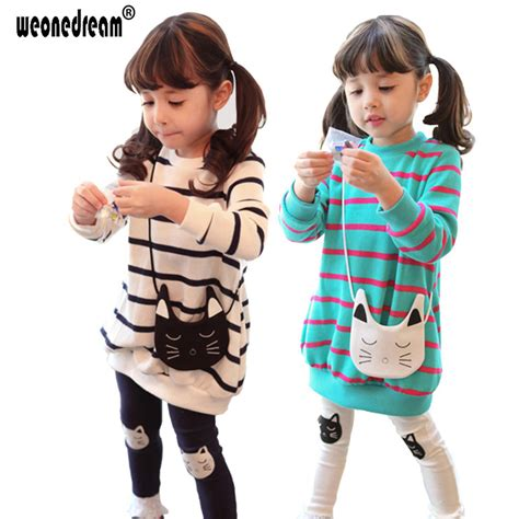 C788 Kid Cotton Fashion Set weonedream 2018 new autumn children clothes sets cotton casual suit