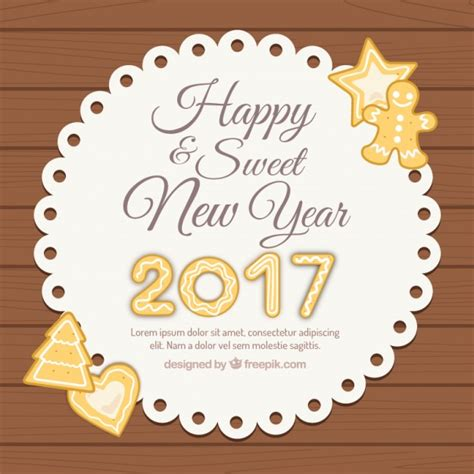 new year label vector happy and sweet new year label vector free