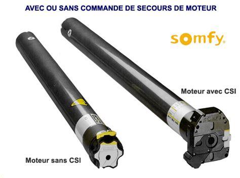 Moteur Pour Store Banne 1096 by Store Banne Coffre Avec Moteur Somfy Csi Commande Secours