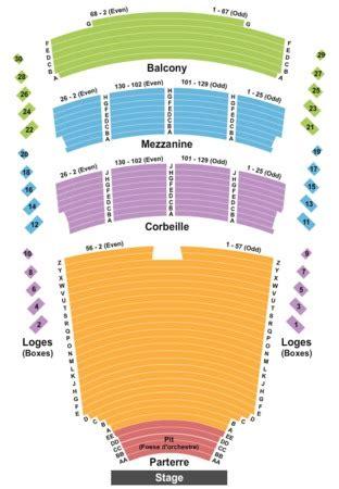 place des arts seating chart theatre maisonneuve salle wilfrid pelletier at place des arts tickets in
