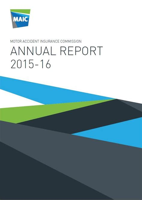 National Insurance Letters 2015 16 Annual Report 2015 16 Maic