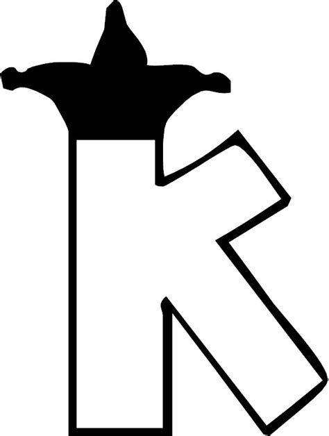 single alphabet coloring pages free coloring pages of single letter k