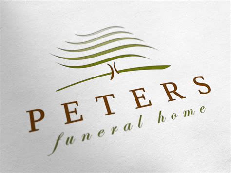 peters funeral home logo design redgizmo digital marketing